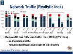 network traffic realistic lock