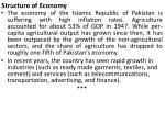 structure of economy