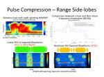 pulse compression range side lobes
