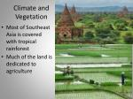 climate and vegetation1
