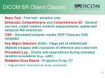 dicom sr object classes