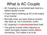 what is ac couple