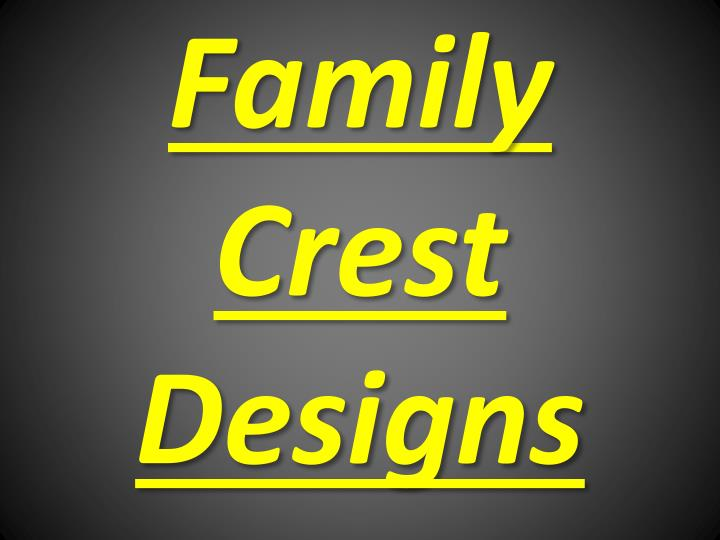 family crest designs n.