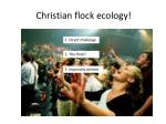christian flock ecology