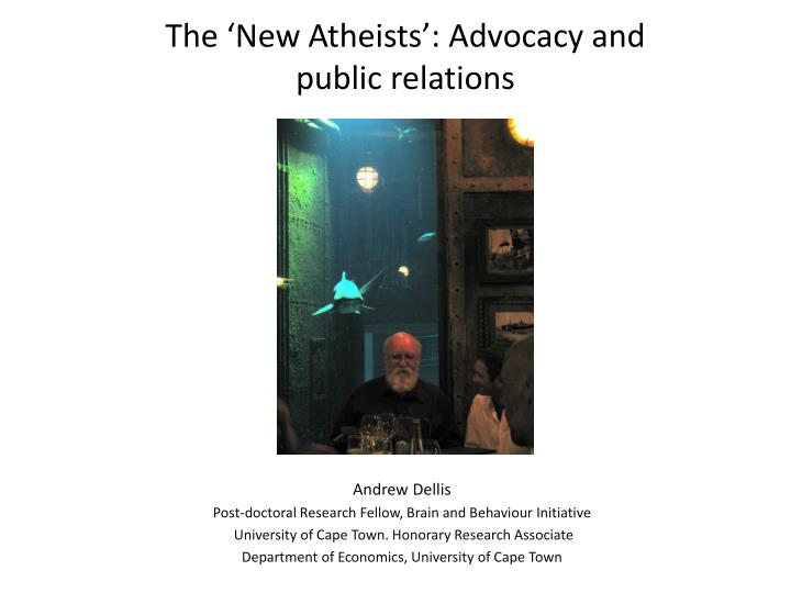 the new a theists advocacy and public relations n.