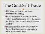 the gold salt trade1