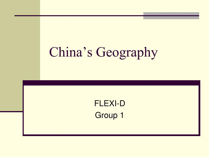 china s geography n.