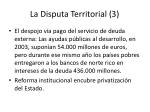 la disputa territorial 3