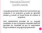 lenguaje de programacion compilador