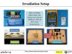 irradiation setup1
