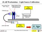 jlab workstation light source calibration