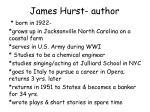 james hurst author