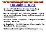 vicksburg gettysburg