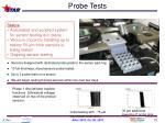 probe tests