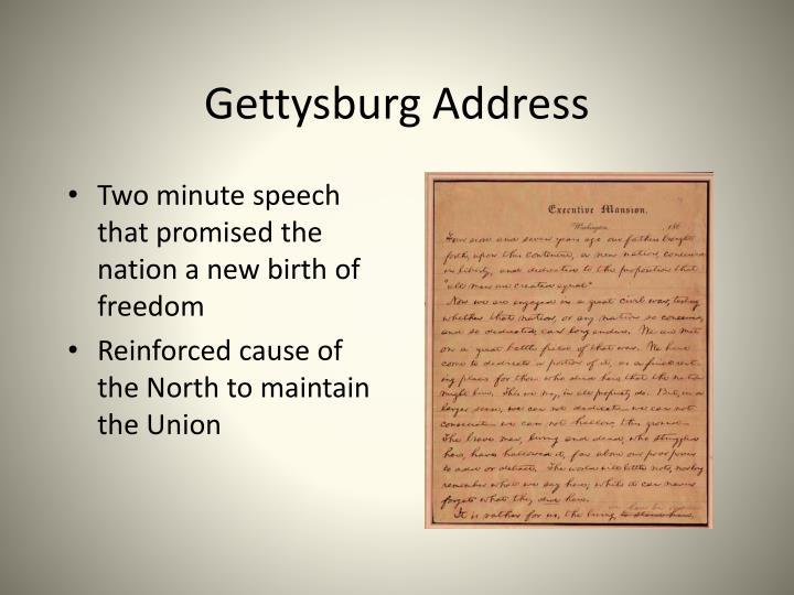 two minute speech