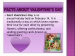 facts about valentine s day