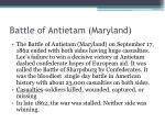 battle of antietam maryland