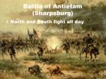 battle of antietam sharpsburg