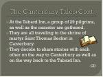 the canterbury tales cont