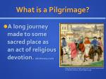 what is a pilgrimage