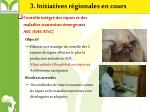 3 initiatives r gionales en cours1