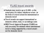 flas travel awards