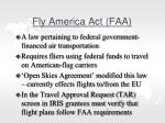 fly america act faa