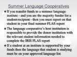 summer language cooperatives1
