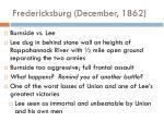 fredericksburg december 1862