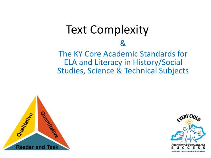 text complexity n.