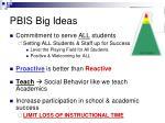 pbis big ideas