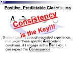 positive predictable classrooms