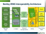 bentley iring interoperability architecture