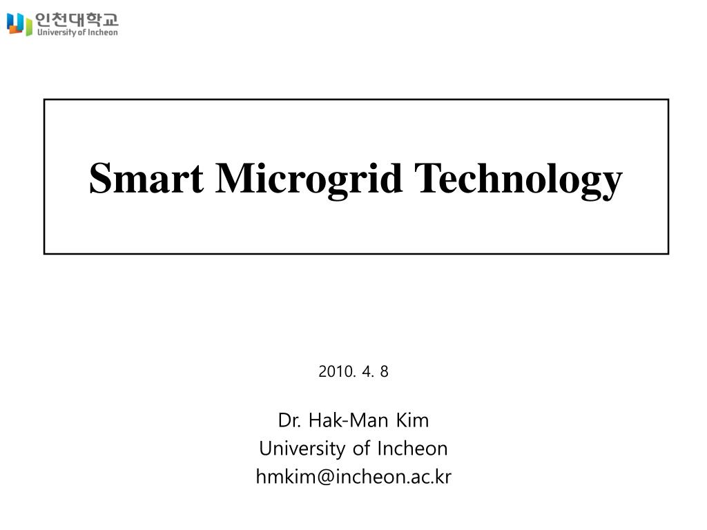 Microgrid and energy storage system complete details new ppt.