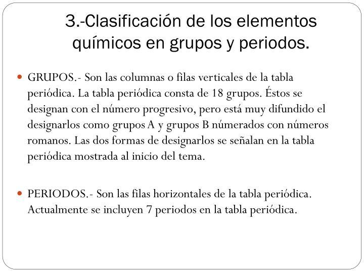 Ppt l a tabla peridica powerpoint presentation id2089257 clasificacin de los elementos qumicos en grupos y periodos urtaz Images