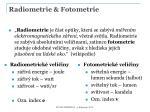 radiometrie fotometrie1
