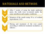materials and methods4