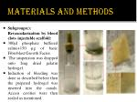 materials and methods7