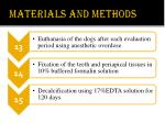 materials and methods9