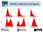 mcmc calibration oregon