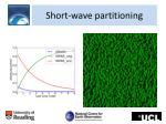 short wave partitioning1