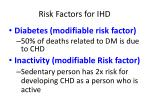 risk factors for ihd2