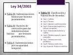 ley 34 20031