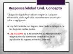 responsabilidad civil concepto
