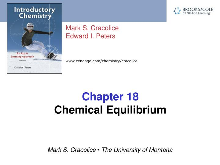 chapter 18 chemical equilibrium n.