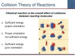 collision theory of reactions1
