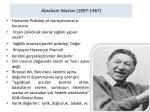 abraham maslov 1897 1967