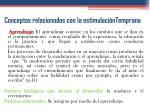 conceptos relacionados con la estimulaci ntemprana2