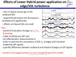 effects of lower hybrid power application on edge sol turbulence2