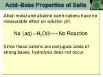 acid base properties of salts4